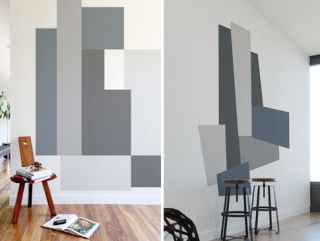 Color Block wall decals Mina Javid