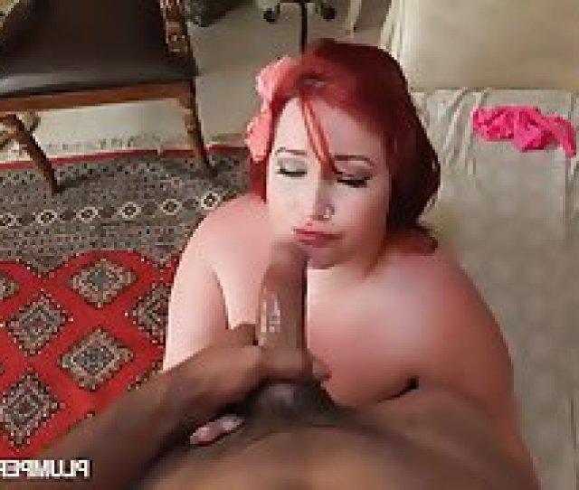 Busty Redhead Bbw Babe Eliza Allure Loves To Fuck Big Cocks