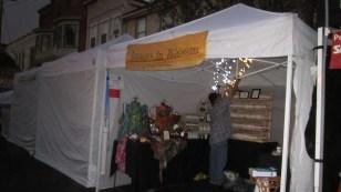 Setting up at Sauerkraut 2013