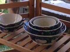 Orlando Pottery's little faces bowls.