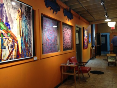 amazing works on the walls