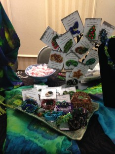 some of the pins and brooches
