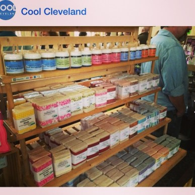 we made it on cool cleveland's photo feed!!!!