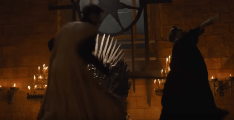 Mad King Stabbed Game Of Thrones