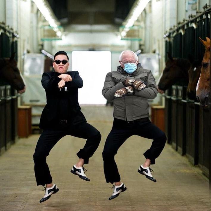 Bernie_Gangnamstyle