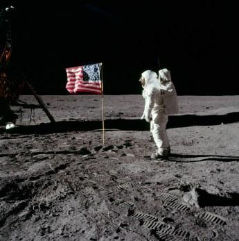 Buzz Aldrin, 1969 (photo Neil Armstrong).