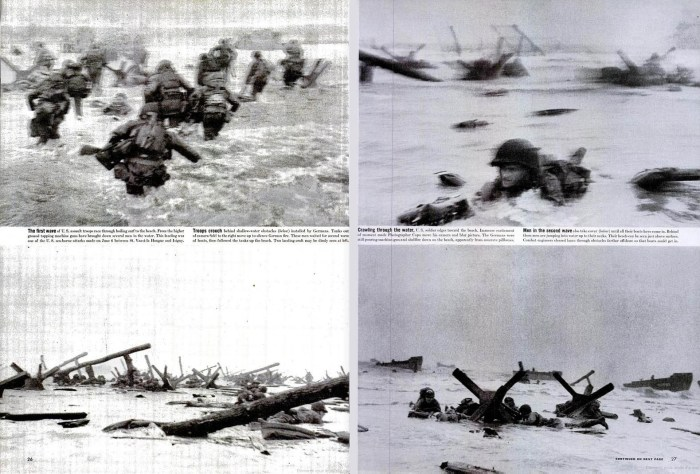 "Life, ""Beachheads of Normandy"", 19 juin 1944."