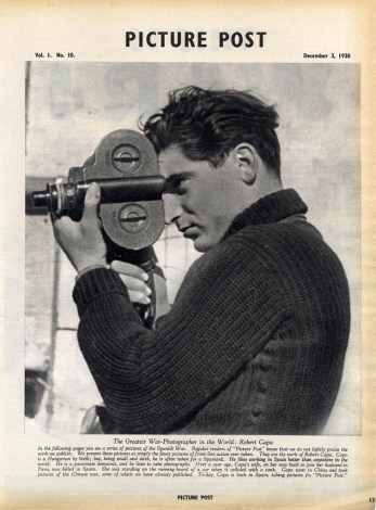 Picture Post, Robert Capa, 1938.