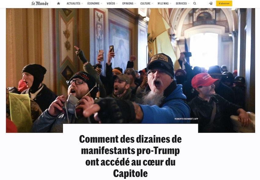 Photo Roberto Schmidt/AFP (Le Monde).