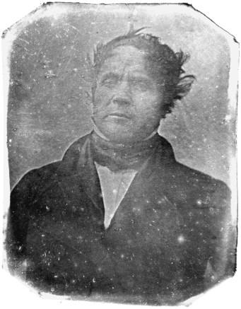 Daguerre (attr.), portrait de M. Huet, 1837.