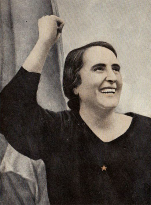 15. Dolores Ibárruri, 1936.