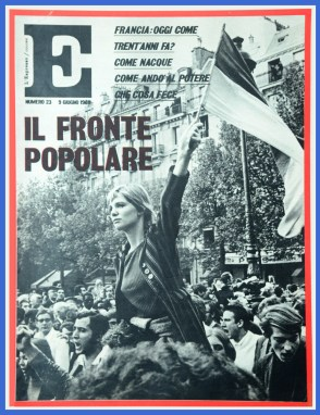 18. L'Espresso, 9 juin 1968.