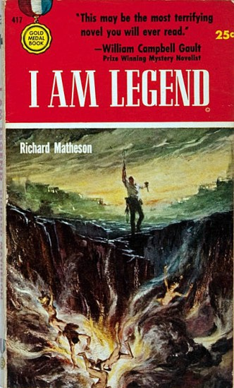 Richard Matheson, I am Legend, 1954.