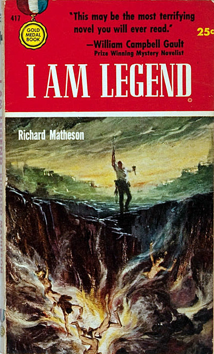 Richard Matheson, I am Legend, 1954.