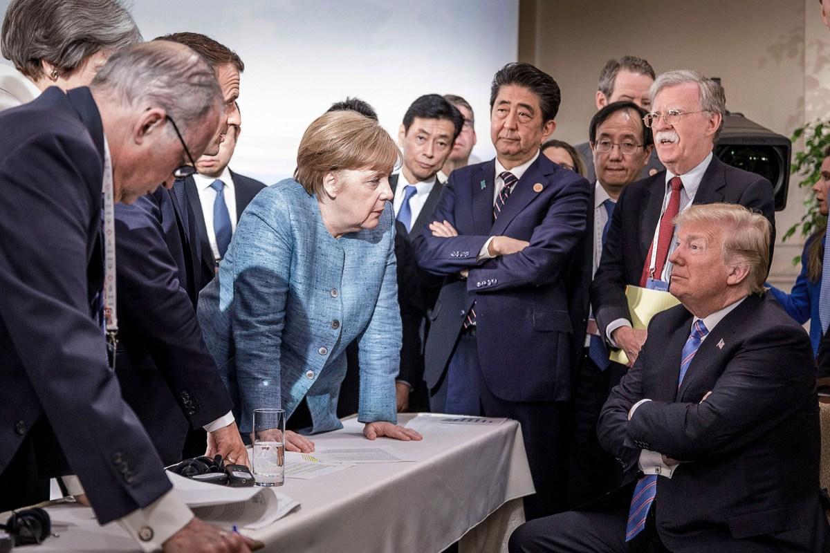 Merkel au G7: voyez ce que vous voulez