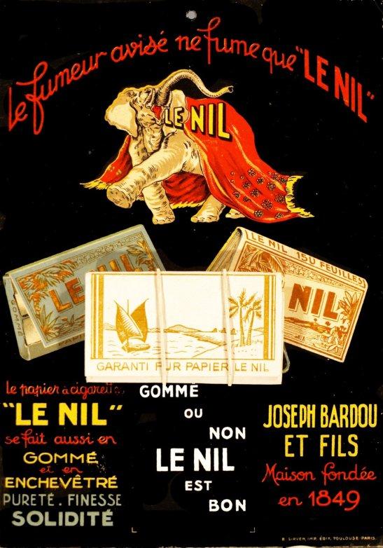 Papier à cigarettes Le Nil.