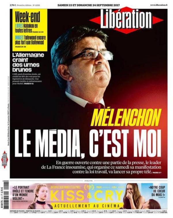 Libération du 23/09/2017.