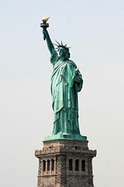 Bartholdi, La Liberté éclairant le monde, 1886.