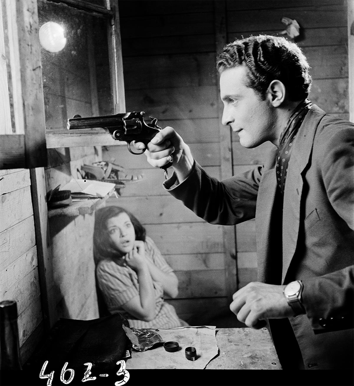 "Roman photo ""Luce nelle tenebre"", 1947."