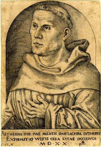 Cranach, Luther, 1520.