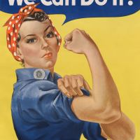 """""""Rosie la riveteuse"""", ou la force au féminin"""