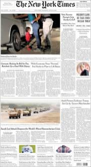 New York Times, 14/06/2018.