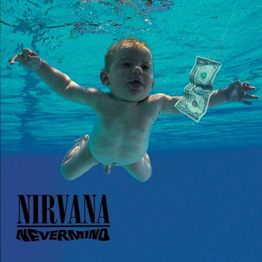 Album Nevermind, 1991 (photo Kirk Weddle).
