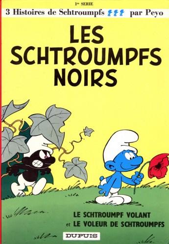 Les Schtroumpfs noirs, 1963.