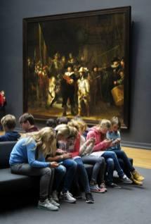 Gijsbert van der Wal, Vanmiddag in het Rijksmuseum, 27 novembre 2014.