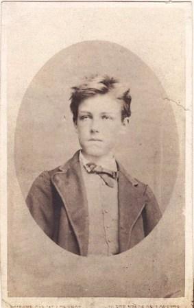 Carjat, Rimbaud, 1871.