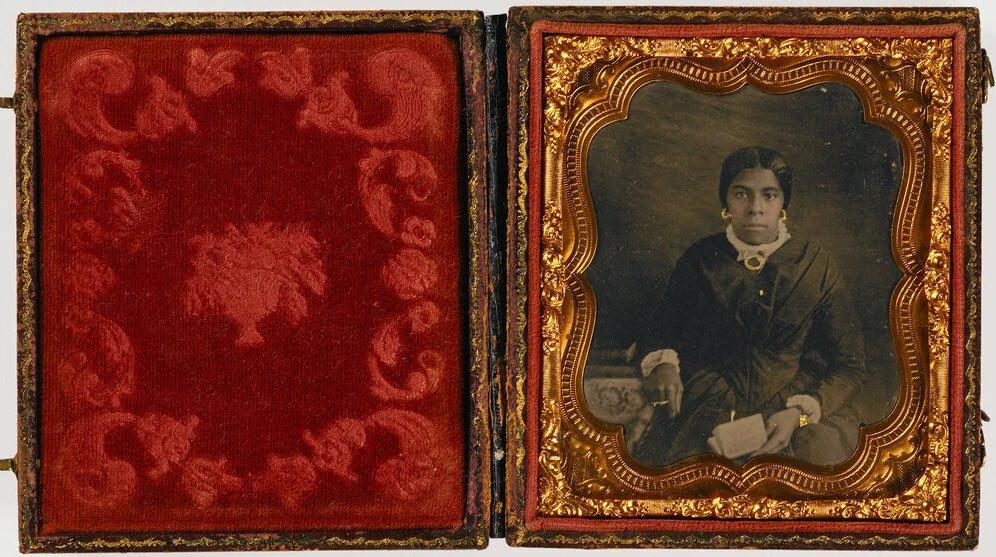 Anon., portrait, ambrotype, coll. L. J. West, Smithonian Museum.