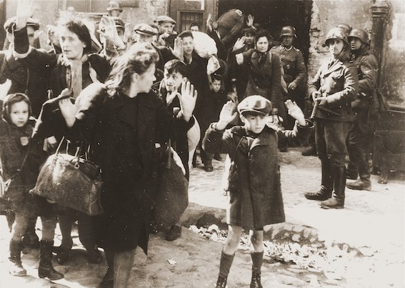 Rapport Stroop, ghetto de Varsovie, 1943.