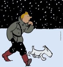 Tintin au pays des Soviets, v. couleur, 2017.