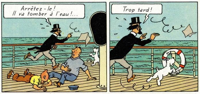 Les Cigares du Pharaon, 1955.