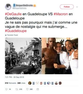 Twitter_Macron_DeGaulle