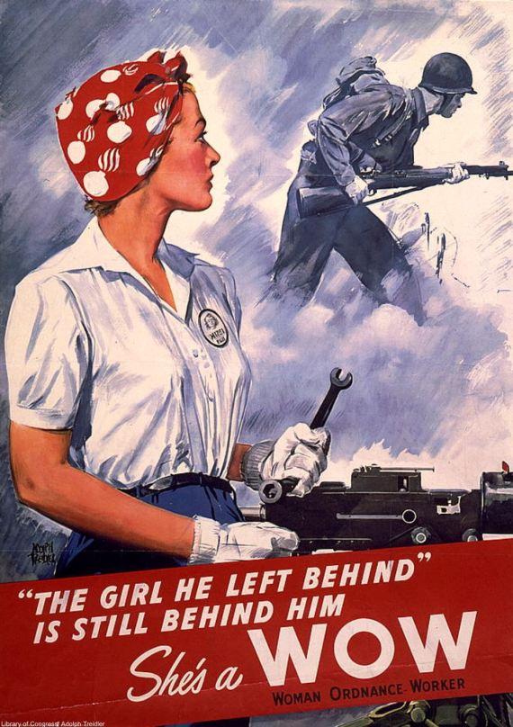 Adolph Treiber, affiche WOW, 1942.