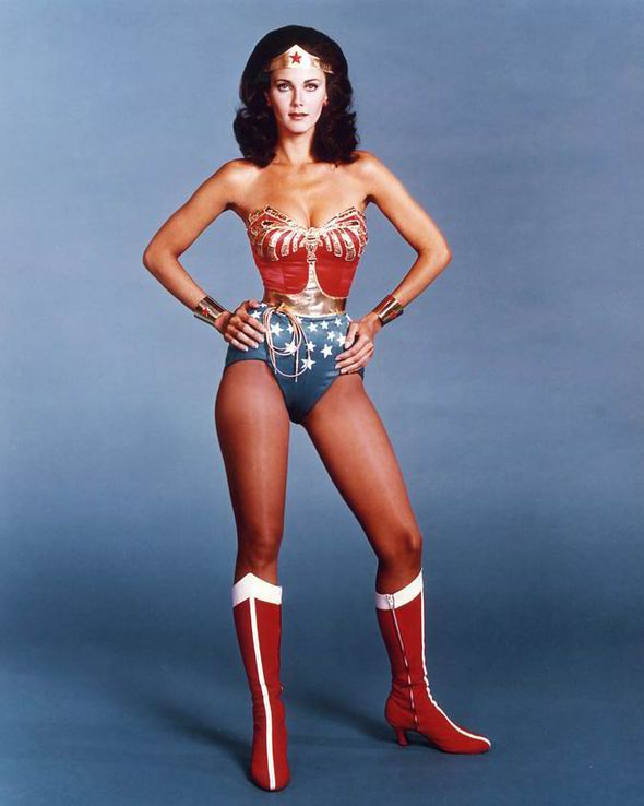 Lynda Carter, Wonder Woman, 1976.