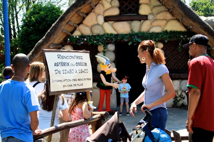 Parc Asterix, 2008 (photo AG).