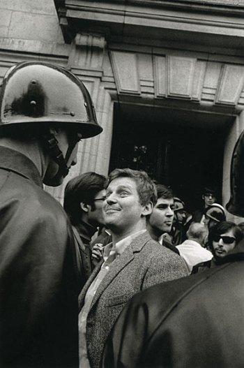 Gilles Caron, Daniel Cohn Bendit, 6 mai 1968.
