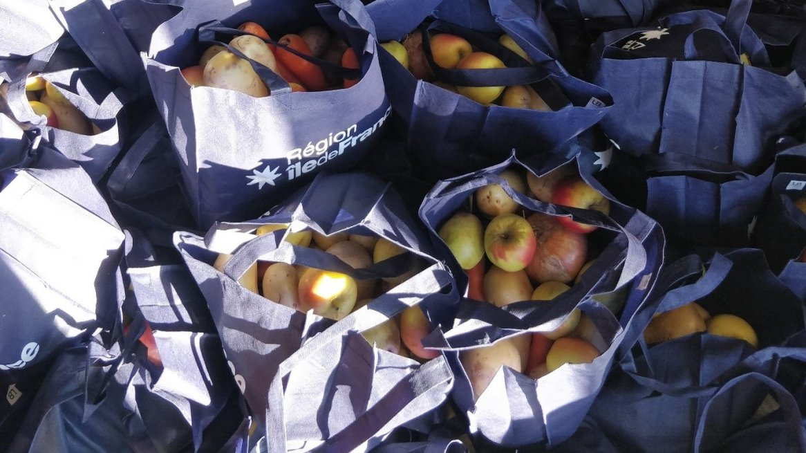 Distribution alimentaire, EHESS, février 2021.