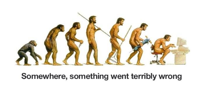 from evolution to devolution