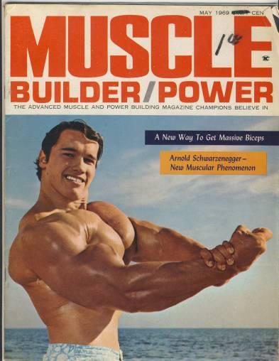 Arnold Schwarzenegger, 1969.