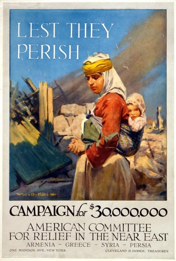 """Campaign """"Lest we perish"""", 1917."""