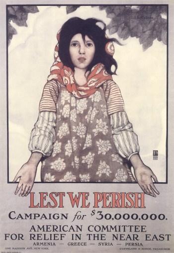 """Campaign """"Lest we perish"""", 1918."""
