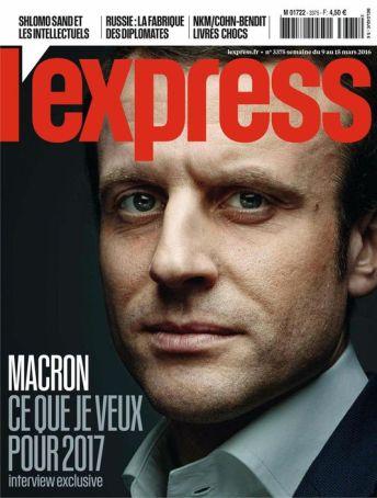 L'Express, 09/03/2016.