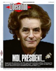 Libération, Une du 22/11/2016.