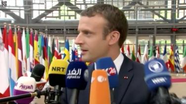 Franceinfo, Macronmania à Bruxelles.