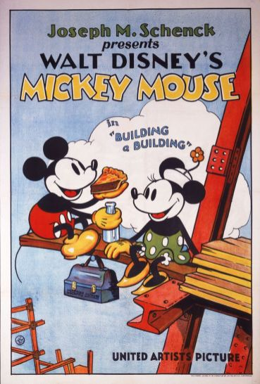 Disney, Mickey Mouse, 1933.