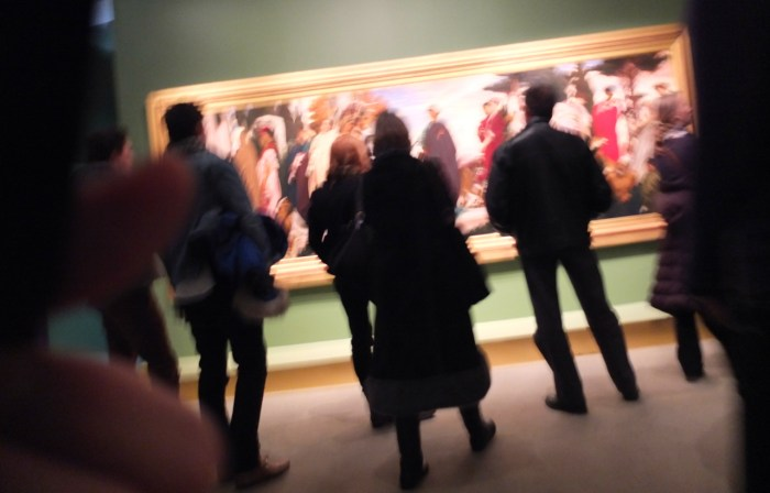 Photo volée, musée d'Orsay, 2011 (photo AG).