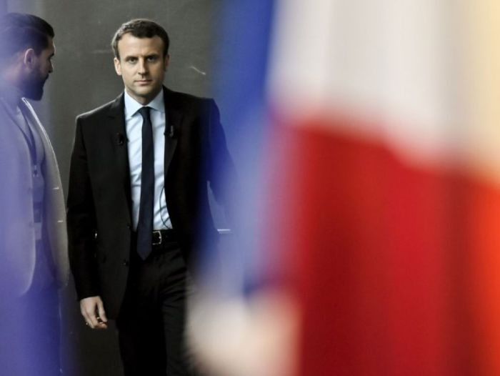 Photo Philippe Lopez (AFP), Emmanuel Macron, 16/11/2016.
